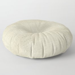 """""""Nude Burlap Texture"""" Floor Pillow"""