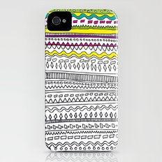 Pattern Slim Case iPhone (4, 4s)