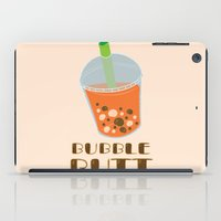 butt iPad Cases featuring Bubble Butt by Hannah Sydiongco