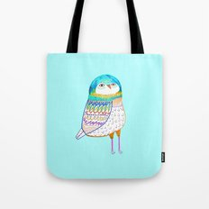 Blue Owl. Tote Bag