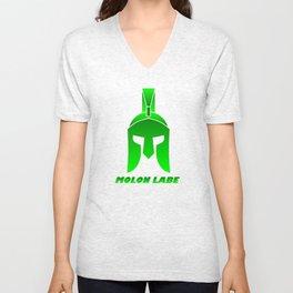 Molon Labe Unisex V-Neck