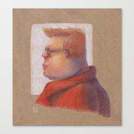 Red Shirt Canvas Print