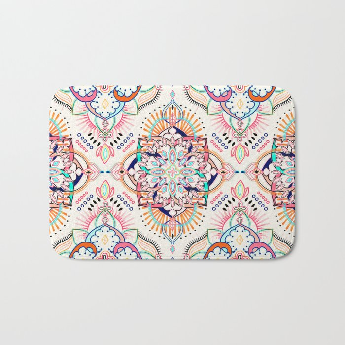 Summer Festival Pop Bath Mat