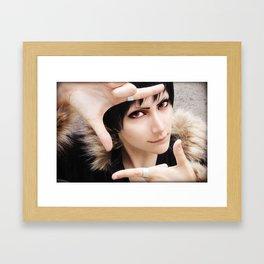 Izaya Orihara Framed Art Print