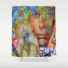 Leader of the Lost Boys  Shower Curtain