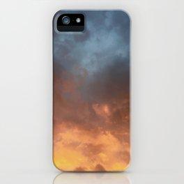 cloudy iPhone Case