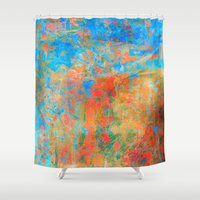 contemporary Shower Curtains featuring Contemporary Dance  by Fernando Vieira
