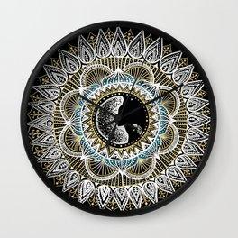 Woman Mandala Wall Clock