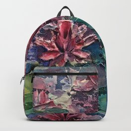 lotus pond Backpack