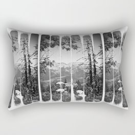 Contrast Rectangular Pillow