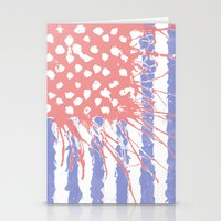 introvert Stationery Cards featuring DRENCH.american introvert by instantgaram