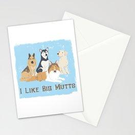 I Like Big Mutts Stationery Cards