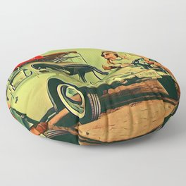 If my Beetle Spoke Floor Pillow