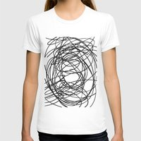 circles T-shirts featuring Circles by Irmak Berktas