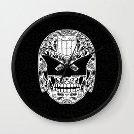 Day of the Dredd - Black Wall Clock