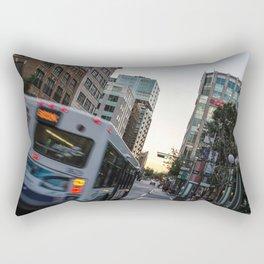 street - Quebec Rectangular Pillow