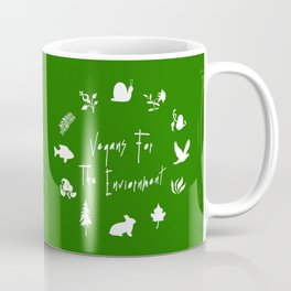 Vegans for The Enviornment Coffee Mug