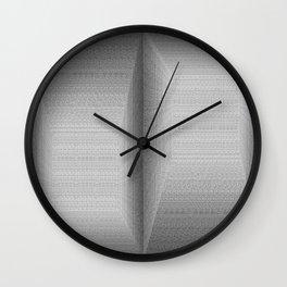 The Binary Rooms Wall Clock
