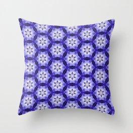 Purple Passion Pattern 4 Throw Pillow