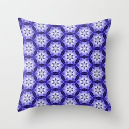 Purple Passion Pattern 4 Throw Pillow