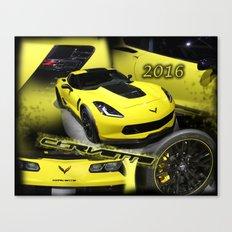 2016 Corvette Canvas Print