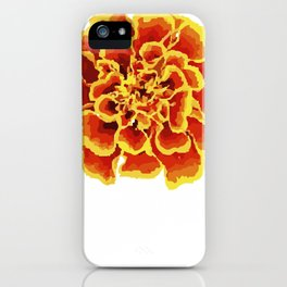 October Marigold Flower Keeper Or Marigold Fan Gift iPhone Case