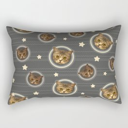 Planets of the Cats Rectangular Pillow