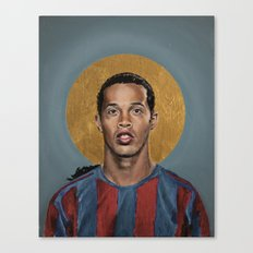 R10 (2006) - Football Icon Canvas Print