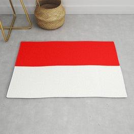 flag of indonesia Rug