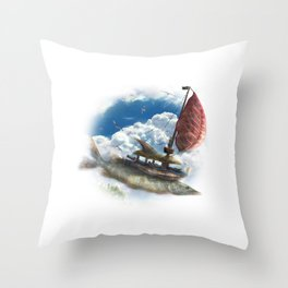 Corsairs from Sirocco Throw Pillow