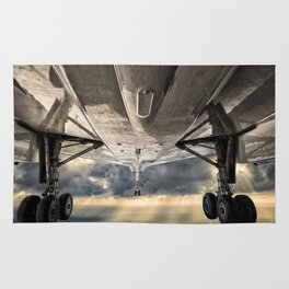 Concorde gear down and locked Rug
