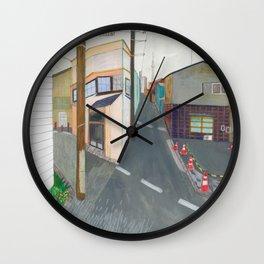 Nisja: tokyo 3 Wall Clock