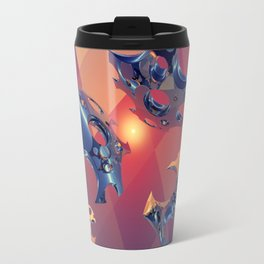 Reflections of Light Flight Travel Mug