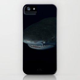 Shark After Dark iPhone Case