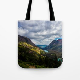 The valley and beyond Tote Bag