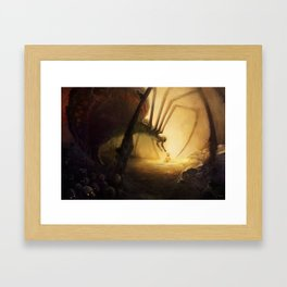 Spidermother Framed Art Print