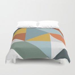 Abstract No. 7 Duvet Cover