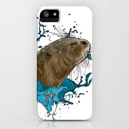 Dru Giant River Otter iPhone Case