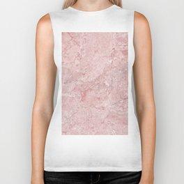 Blush Pink Marble Biker Tank