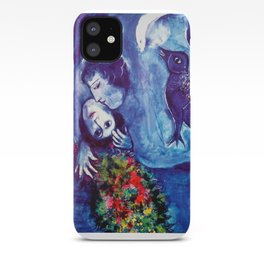 Marc Chagall, Le Paisage Bleu 1949 Artwork, Posters Tshirts Prints Bags Men Women Kids iPhone Case