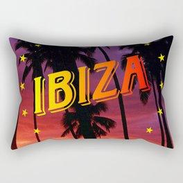 Ibiza, sunset Rectangular Pillow