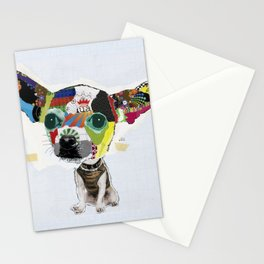 Chihuahua Colorful Dog POP Art Collage Stationery Cards