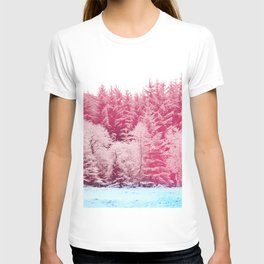 Candy pine trees T-shirt