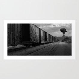 Nuke Train Art Print