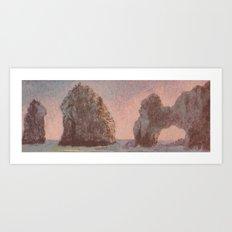 Warm Arches  Art Print