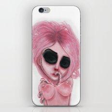Pink Swirled Pain iPhone & iPod Skin
