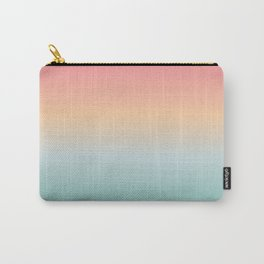 Ocean Sunrise Gradient Carry-All Pouch