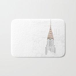 Chrysler Building Bath Mat
