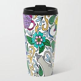 Colorful Tea Time Travel Mug