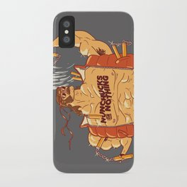 Nunchucks or Nothing! iPhone Case